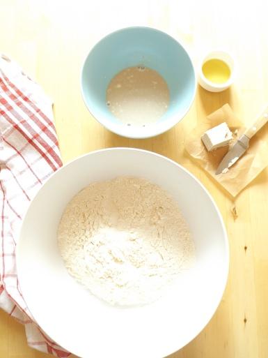 Ciasto drożdżowe na calzone